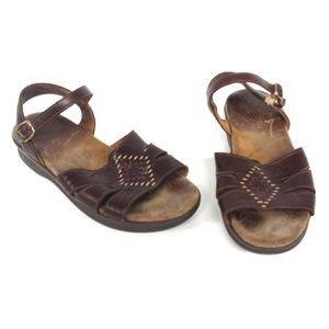 SAS Haurache Sandals Comfort Leather Shoes Size 7M